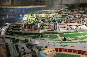 Старинный парк ''Черное озеро'' и современный интерактивный музей ''Городская панорама''