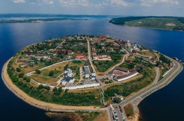 Остров-град Свияжск и Храм всех религий